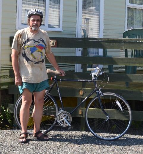john and bike