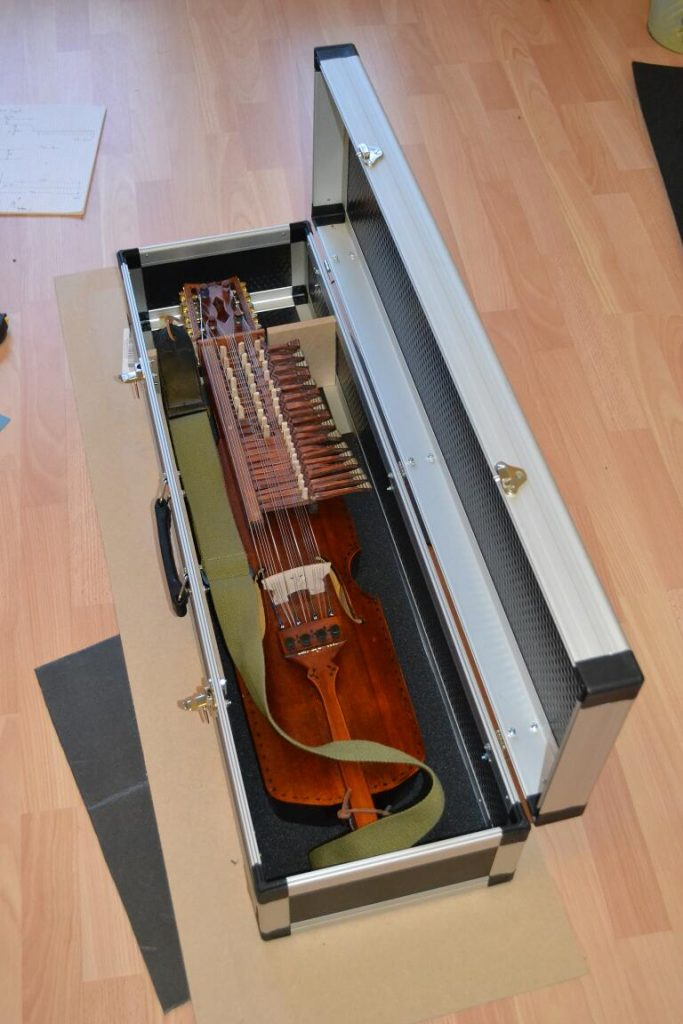 nyckelharpa in case
