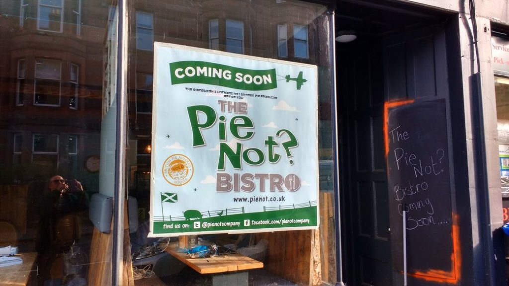 pie notice