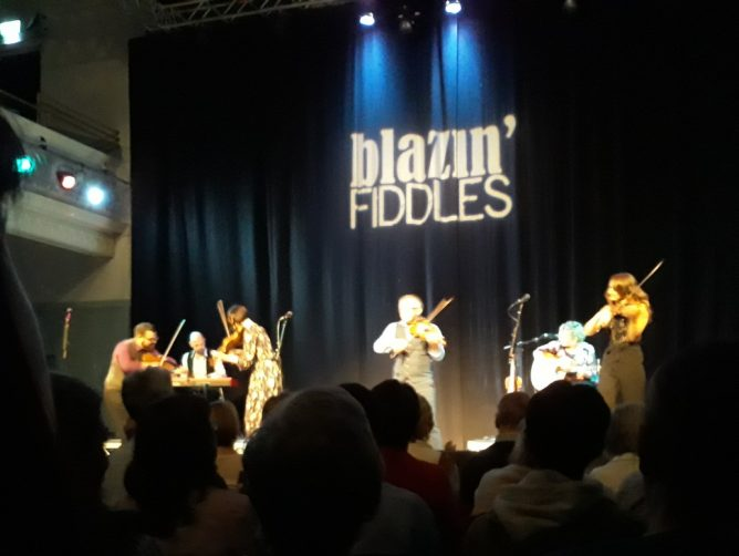 Blazin' Fiddles