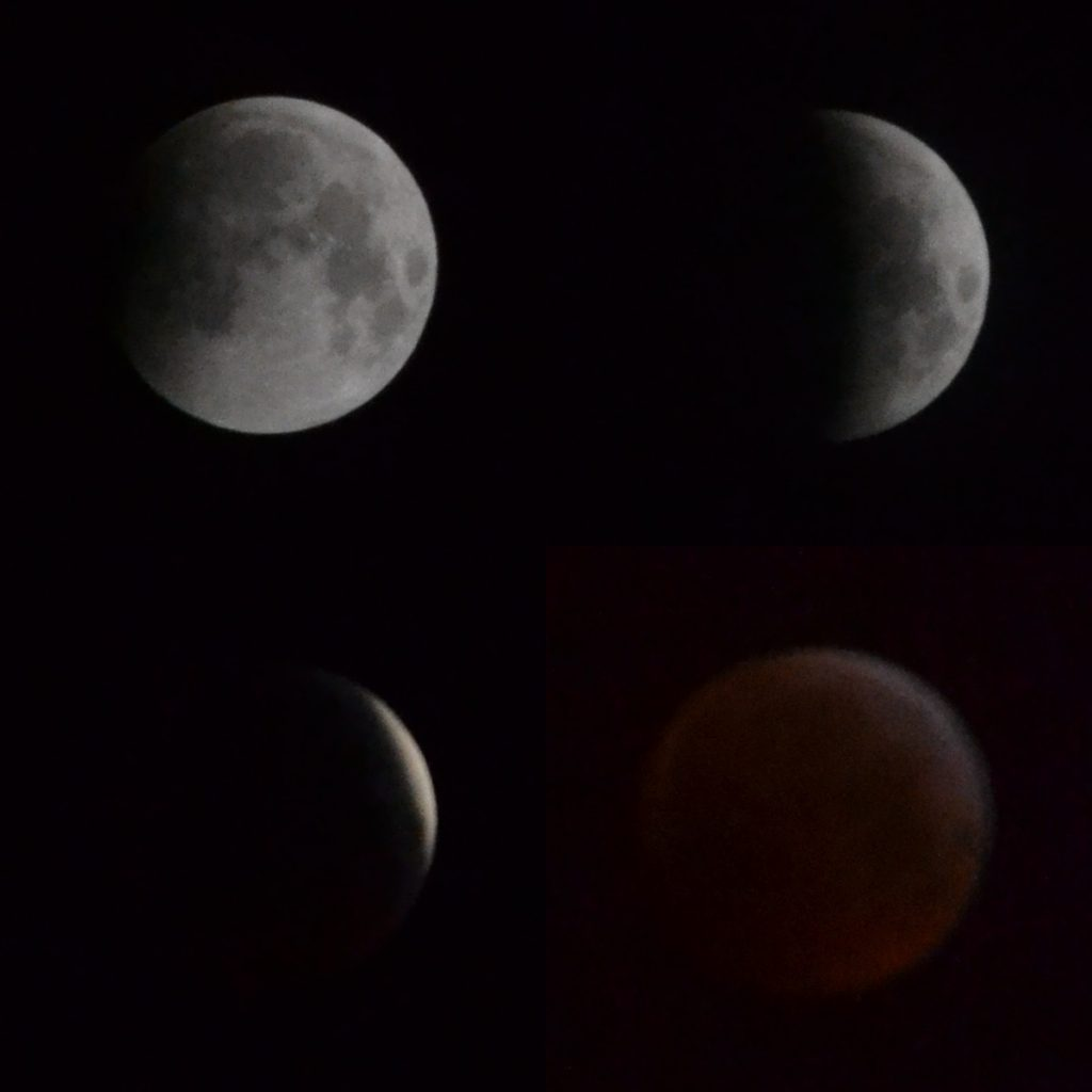 Four Moon images