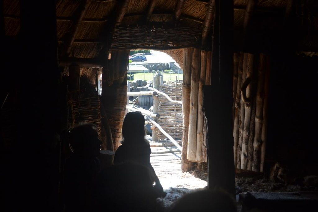 Crannog doorway