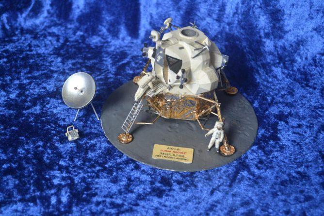 Lunar module model