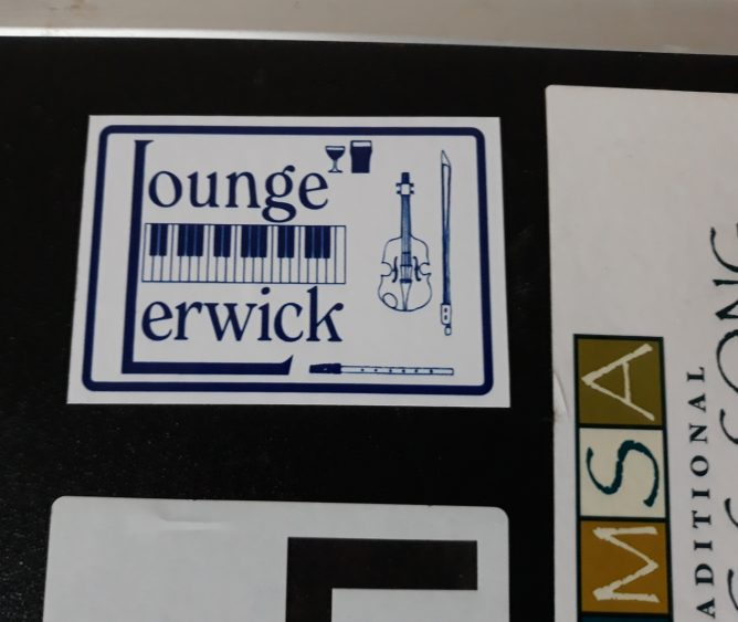 Lounge Bar sticker