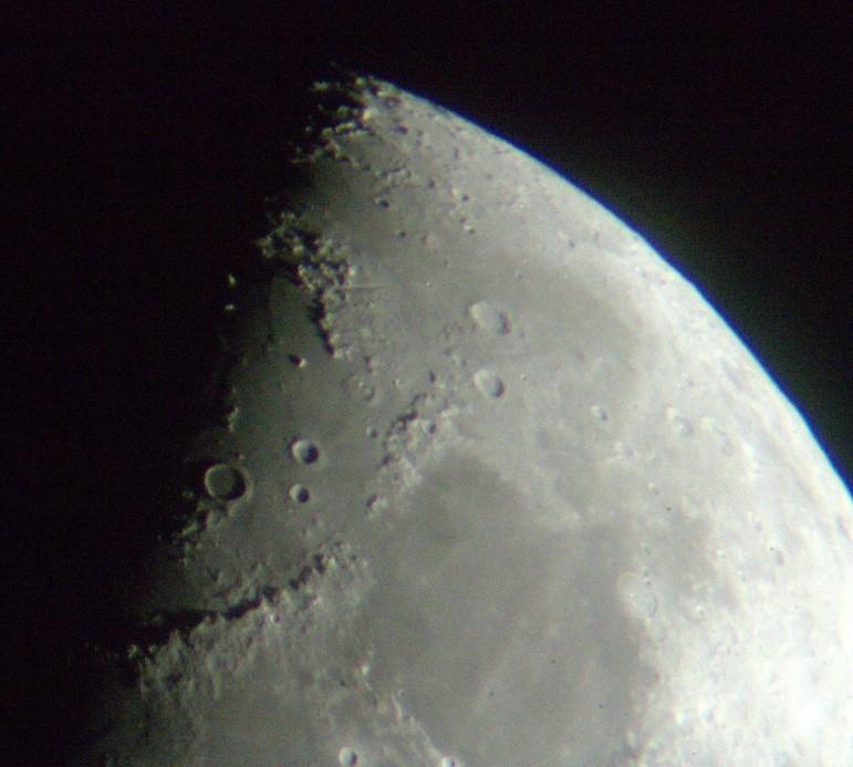 Moon north