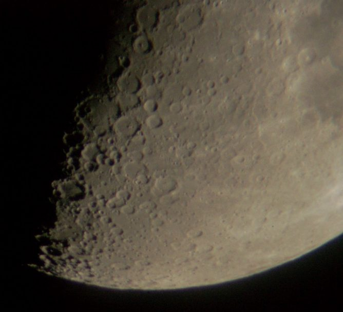 Moon south