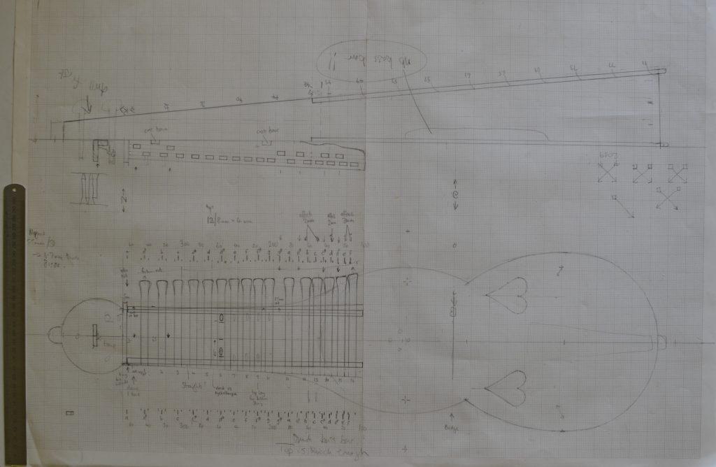 Moraharpa design drawing